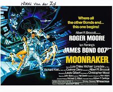 Nikki Van der Zyl Autographed 8x10 Photo James Bond Moonraker (1)