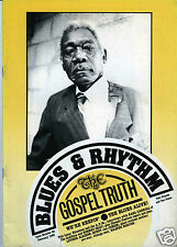 MAGAZINE BLUES & RHYTHM GOSPEL TRUTH No 42 FEBRUARY 1989 PEPERMINT HARRIS