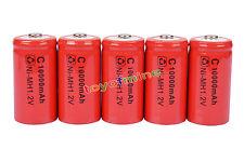 5 x C ricaricabile 1.2V Ni-MH 9500mAh della batteria RED delle cellule