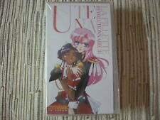 VIDEO MANGA UTENA LA FILLETTE REVOLUTIONNAIRE VOLUMEN 01  VHS NUEVO