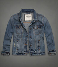 Abercrombie & Fitch A&F Women Meredith Denim Jean Jacket Small S BNIB*
