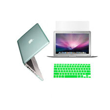 "3in1 GREEN Crystal Case for Macbook Pro15"" A1398 / Retina display +Key Cover+LCD"
