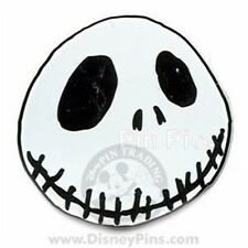 Disney - NBC - Jack Skellington - Headshot Pin - New On Card
