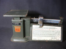 Old Vtg Collectible Triner Postal Scale Air Mail Accuracy Scale 16 Oz