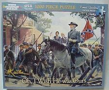"""White Mountain Puzzles Jigsaw 1000 pc """"Oh! I Wish He Was One of Ours"""" 24""""X30"""""""