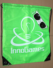 InnoGames Drawstring Bag & Sunglasses Gamescom 2016 Tribal Wars Forge of Empires