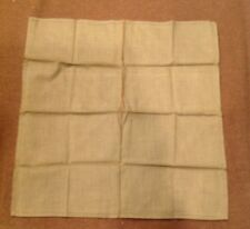 WW2 U.S. Military Army GI's Issued Green Cloth Pocket Hankie Handkerchief