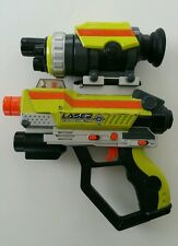 2007 Jakks Pacific Laser Challenge Pro Green Gun Tag Lazer with Scope Works!