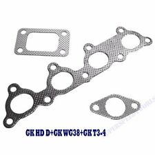Gasket Combo 3 Pieces for 88-00 Civic D15 D16 Series Graphite Coated Aluminum