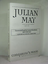 1st,signed by author,Boreal Moon 1:Conqueror's Moon,Julian May,uncorrected proof