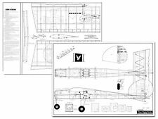 Das Ugly Stick Full Size Balsa Model Airplane Printed Plans