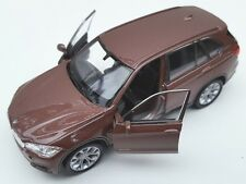 BLITZ VERSAND BMW X5 braun / brown Welly Modell Auto 1:34-39 NEU & OVP