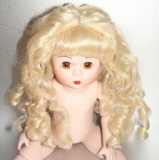"""8"""" Eight Inch Madame Alexander Nude Dress Me Doll All Porcelain EASTER SPRING"""