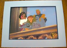 """DISNEY'S 1997 """"THE HUNCHBACK OF NOTRE DAME """" EXCLUSIVE COMMEMORATIVE LITHO. -NEW"""