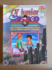 TV JUNIOR n°15  1982 Galaxy 1999 Bia Marco ed. ERI RAI  [G419A]