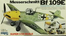 MPC 1:24 Messerschmitt Bf-109 E Plastic Aircraft Model Kit #2-3507