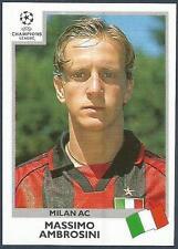 PANINI UEFA CHAMPIONS LEAGUE 1999-00- #297-AC MILAN-MASSIMO AMBROSINI