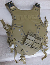 High Speed Tactical Armor for Airsoft Player Tan