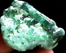 59g New Find Natural clear GREEN Tourmaline Crystal Rough Stone Rock Specimen