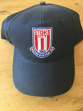 Stoke City Essential Cap - Navy - One Size