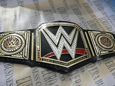 New Replica WWE Championship Belt Adult Size Metal Plates With Bag