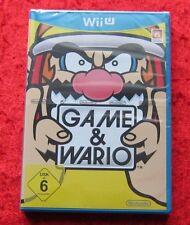 Game & Wario Wii U, Nintendo WiiU Spiel, Neu, deutsche Version