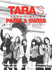 TARA`S FREE TIME IN PARIS & SWISS by TARA Limitied Edition Remix CD Sealed