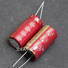 1PCS 2200uF 16V ELNA Cerafine ROA audio HiFi Electrolytic Capacitor RED JP #CUM