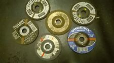 SELECTION OF STEEL CUTTERS/GRINDING DISCS  (125 X 6 X 22.2)