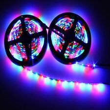 10m 3528 SMD RGB Flexible LED Light Strip 600LEDs & 44 Key IR Remote Controller