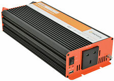POWER INVERTER CONVERTER 1000W DC - AC 12V SOFT START PURE SINE WAVE 652.104