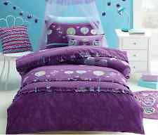 5 pce Jiggle Giggle Girls Butterfly Lantern Single Bed Quilt Cover Set Package