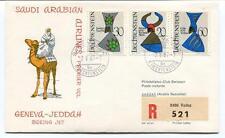 FFC 1967 Saudi Arabian Airlines Boeing Geneva Jeddah REGISTERED Liechtenstein