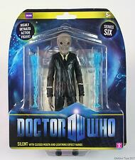 "Doctor Who SILENT CLOSED MOUTH 7"" action figure toy with flesh Dr Who - NEW!"