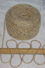100g ball Aran crème GRUAU tweed 100% pure laine BRITISH RACE tricot EFW 601