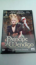 "DVD ""EL PRINCIPE MENDIGO"" WILLIAM DIETERLE RONALD COLMAN MARLENE DIETRICH"