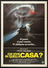 MANIFESTO, CHI VIVE IN QUELLA CASA? They Come Back PETE WALKER, HORROR POSTER