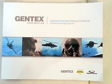 Gentex Aircrew Systems Product Catalog High Performance Flight Equipment 2015