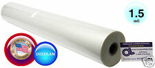 """Doculam Hot Laminating Film 27"""" x 500' on 1"""" core 1.5 Mil American ( 1 Roll )"""