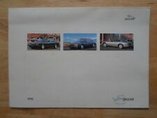 JAGUAR DAIMLER RANGE 1998 fold-out brochure - XK8 XJ8 Super V8 Sovereign XJR