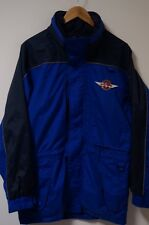 Men's Southwest Airlines Uniform Full Zip Nylon Windbreaker Rain Jacket Size XS