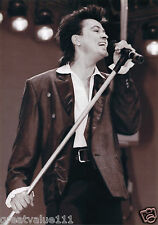 PAUL YOUNG PHOTO LIVE AID 1985 HUGE 12 INCH UNIQUE IMAGE  UNRELEASED EXCLUSIVE
