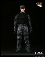 1/6 Fire Girl Toys FG006 Male Black Python Camouflage Cloth Set For Hot Toys DAM