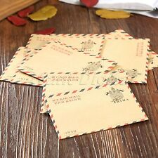 Old Style Mini Envelope Postcard Letter Greeting Cards Storage Papers Stationary