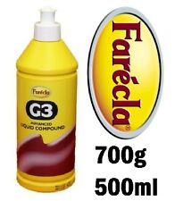FARECLA G3 ADVANCED LIQUID COMPOUND 500ml (700g) DETAILING BODYSHOP AG3-700