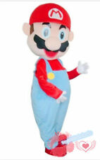 Super Mario Mascot Costume EPE Fancy Dress Outfit Adult cosplay Party game NEW