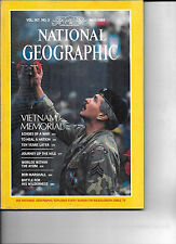 MAY 1985 NATIONAL GEOGRAPHIC-FEATURING VIETNAM MEMORIAL