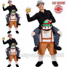 Bavarian Beer Guy Carry Me Costume Ride On Piggy Back Mascot Oktoberfest Adult