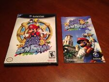 Super Mario Sunshine (Nintendo GameCube, 2002) COMPLETE ----  Collector Quality