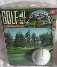 HANDSTAND GOLF GIFT SET - MOUSE, PAD, SCREEN SAVER
